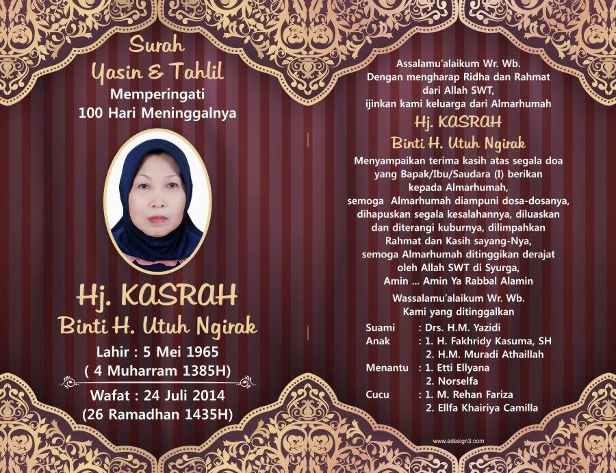 Cover Buku Yasin Desain Baru Gawianku